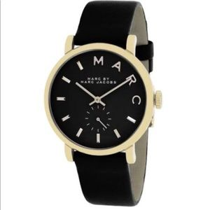 Marc by Marc Jacobs Leather Watch
